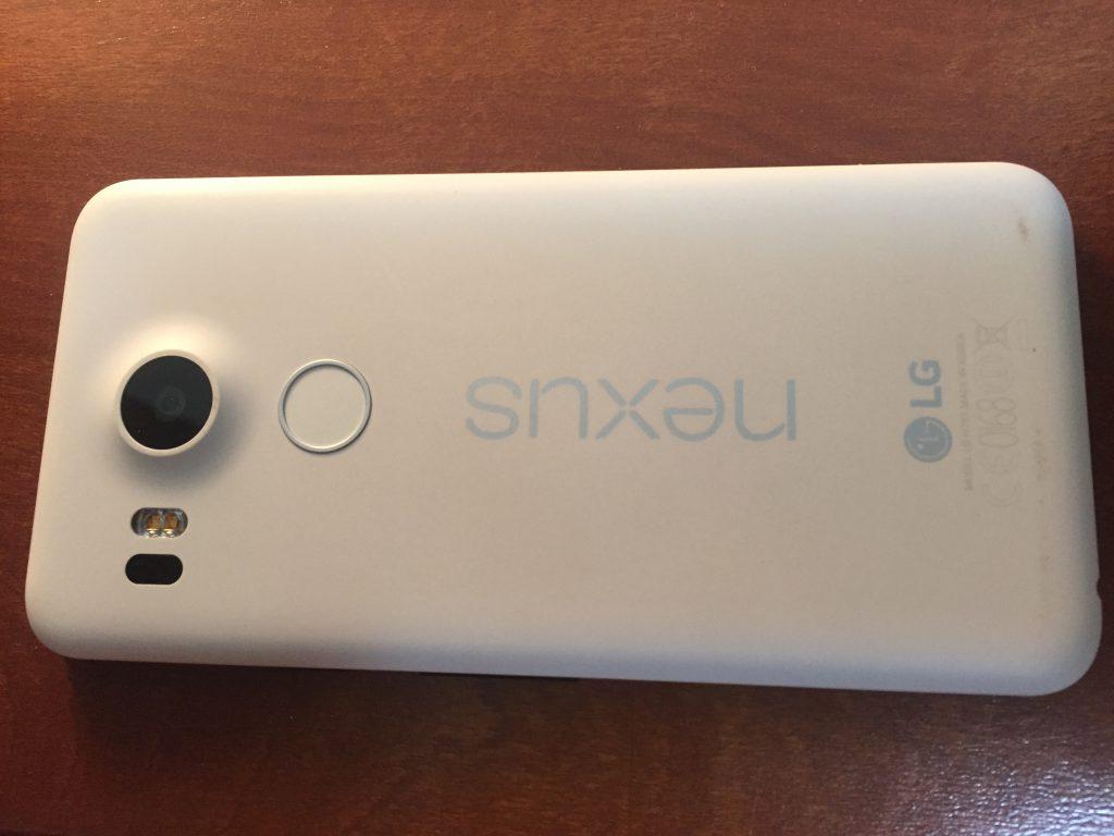 Nexus5xの裏