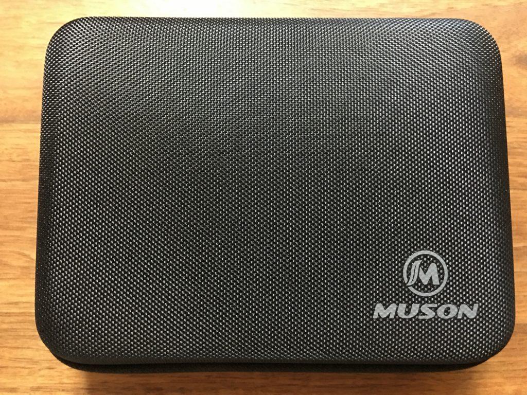 MUSON(ムソン)アクションカメラMC2のハードケース