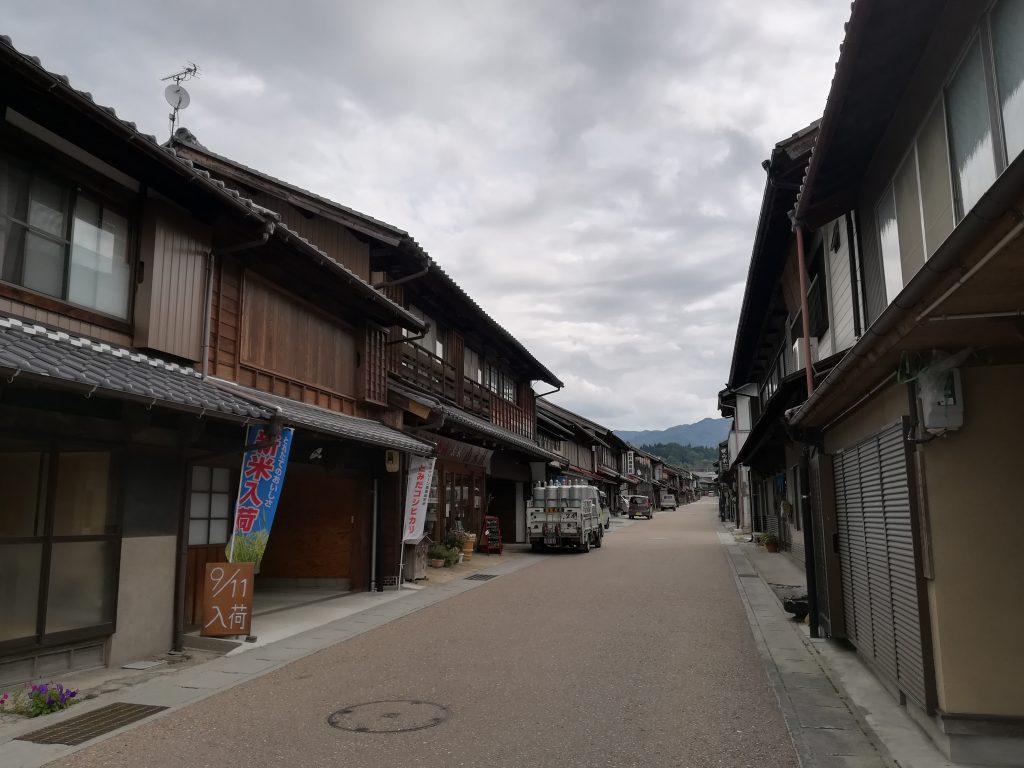 岩村町家風景1