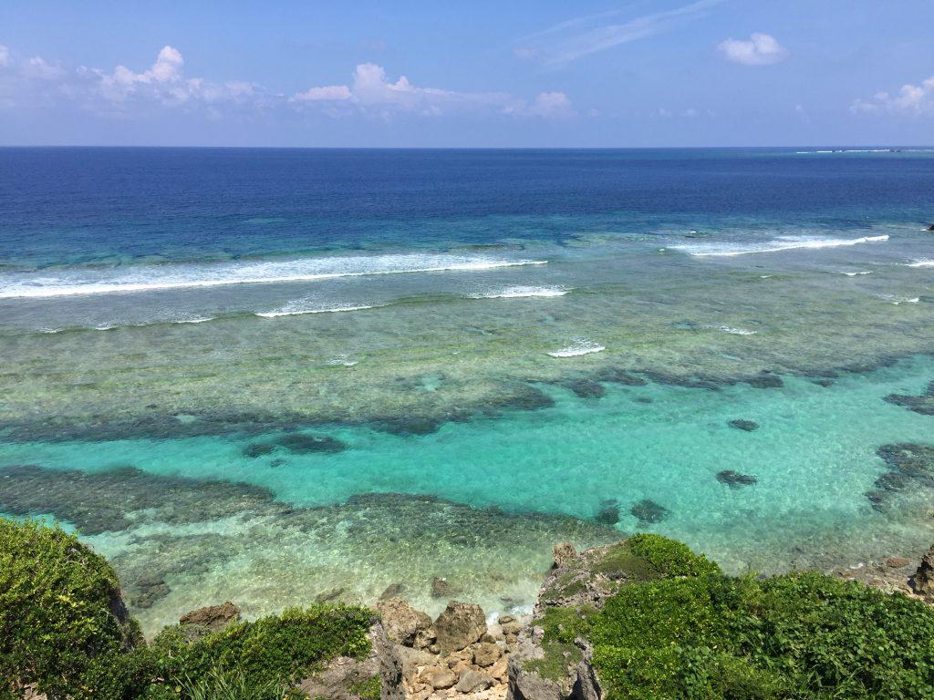 東平安名崎の海1