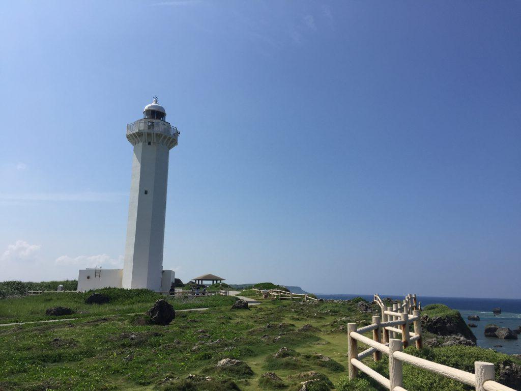 東平安名崎の灯台