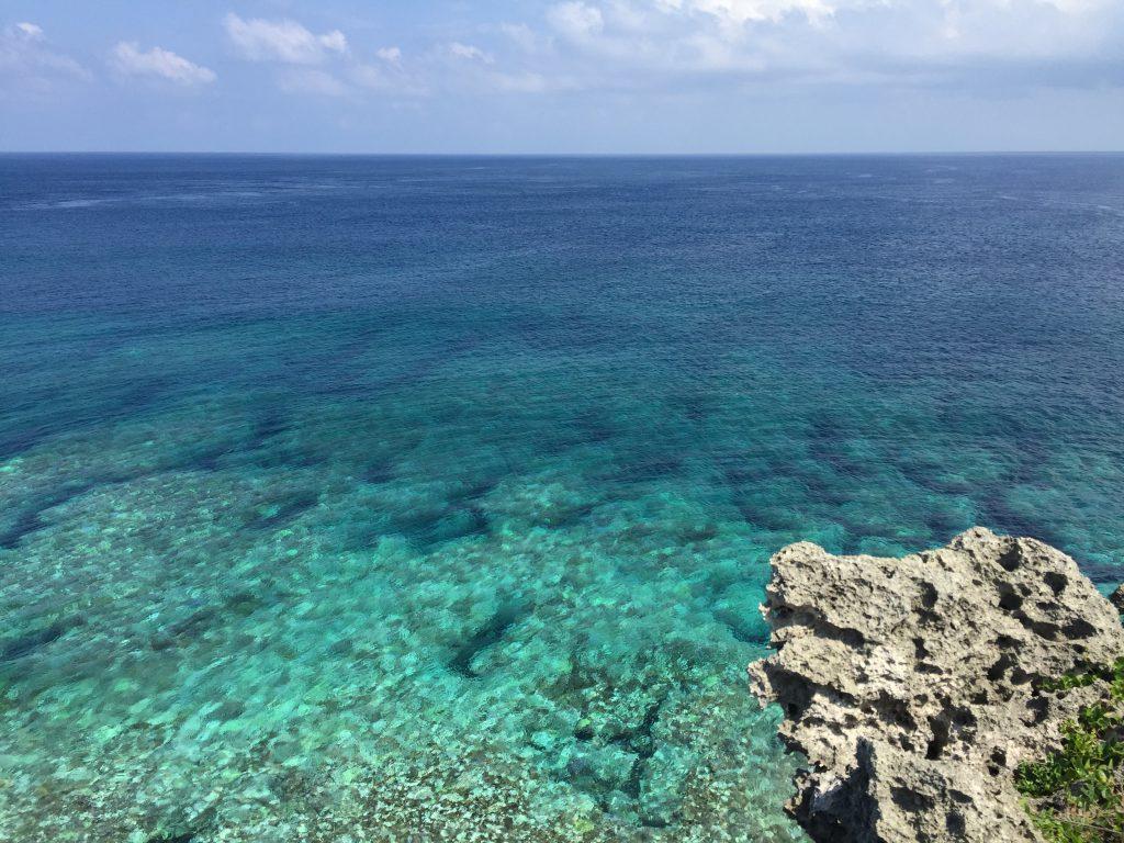 東平安名崎の海3