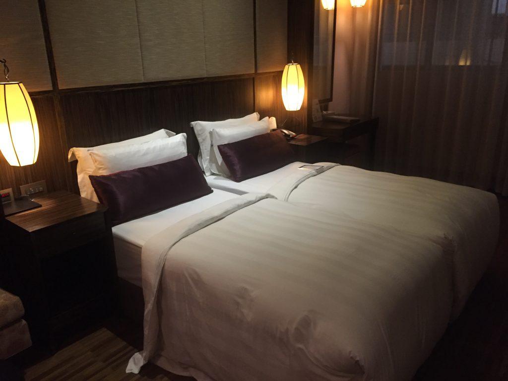 シティスイーツ(城市商旅 南東館)のベッド