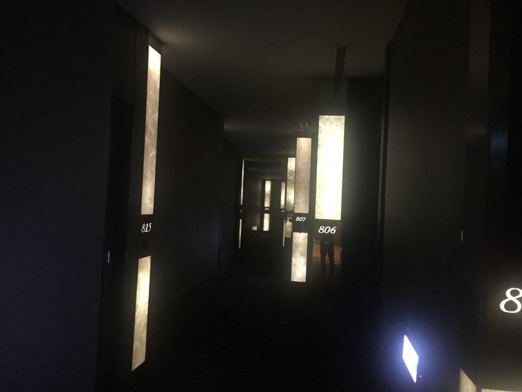 シティスイーツ(城市商旅 南東館)の廊下