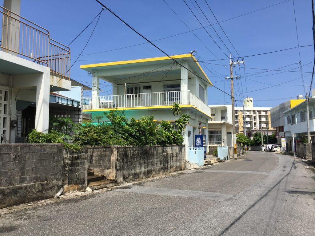 宮古島の住宅街