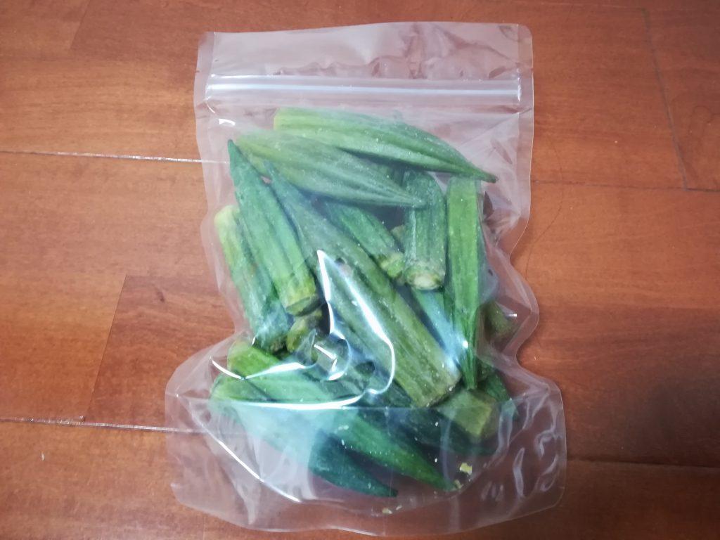 野菜チップスオクラ
