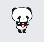 泣いてるパンダ