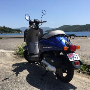 奄美大島からフェリーで加計呂麻島に渡り、レンタルバイク(原付)で島内を周ってみた