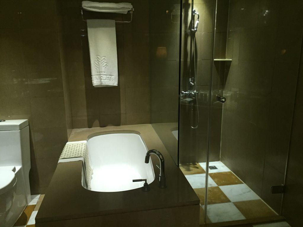 シティスイーツ 台北南西の風呂