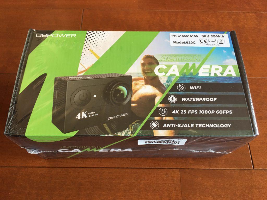 DBPOWER 4K WIFI アクションカメラ1