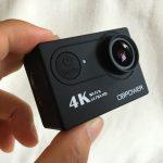 格安で買えるDBPOWER 4K WIFI アクションカメラの実機レビュー