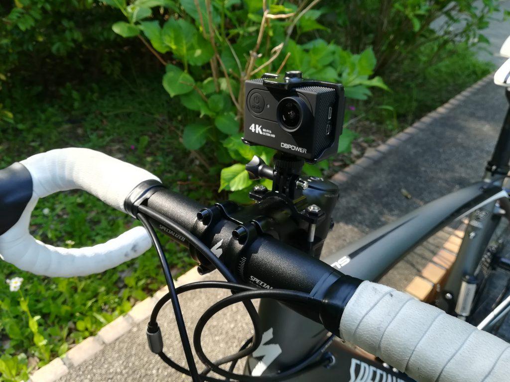 DBPOWER 4K WIFI アクションカメラ6