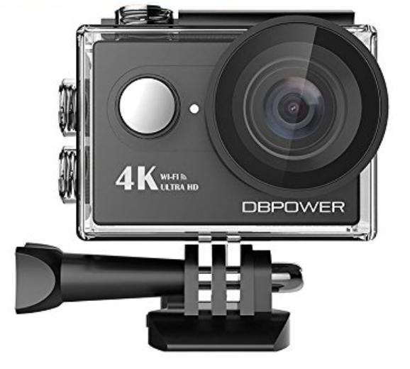 DBPOWER 4K WIFI アクションカメラ
