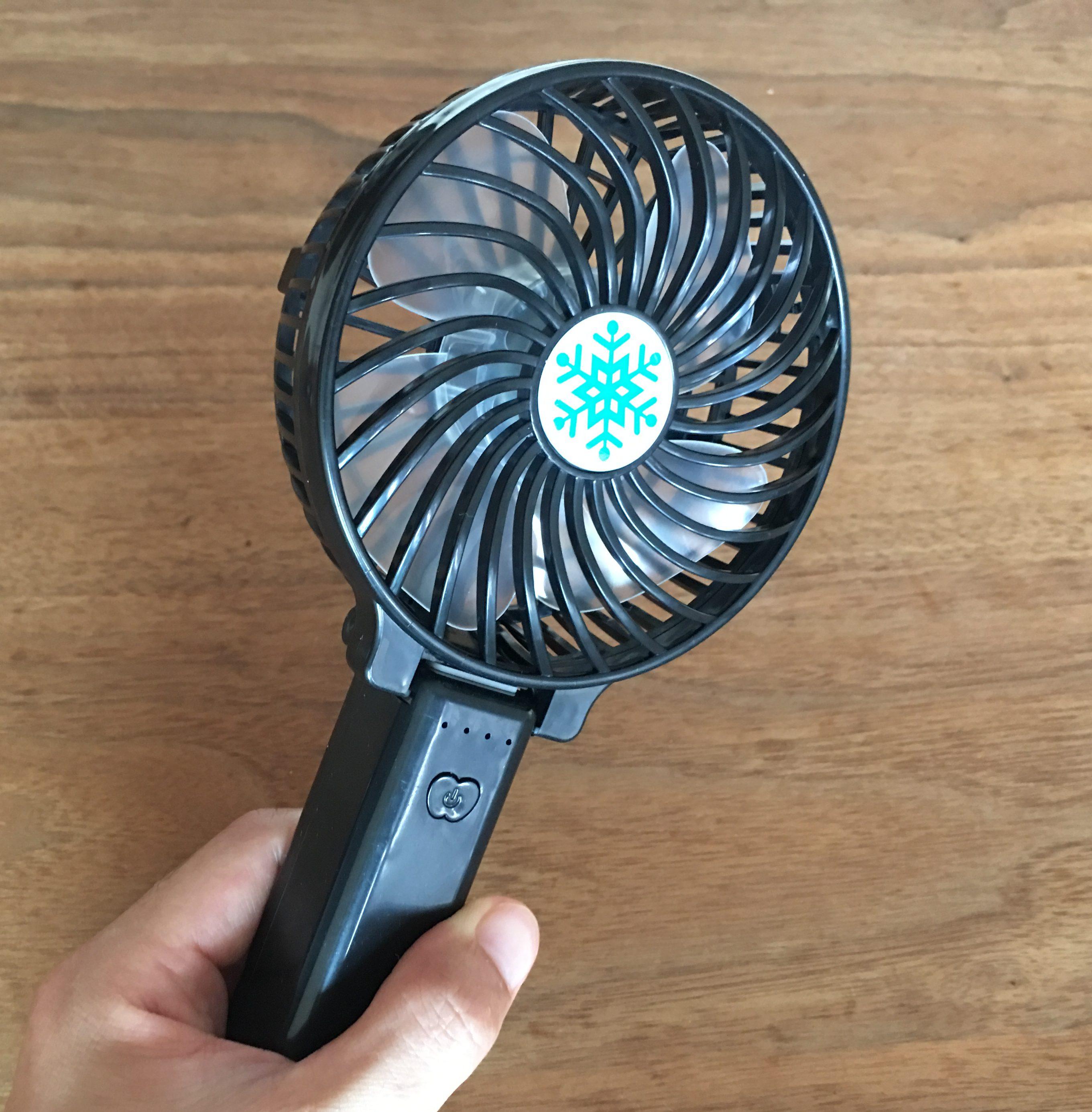 携帯扇風機4