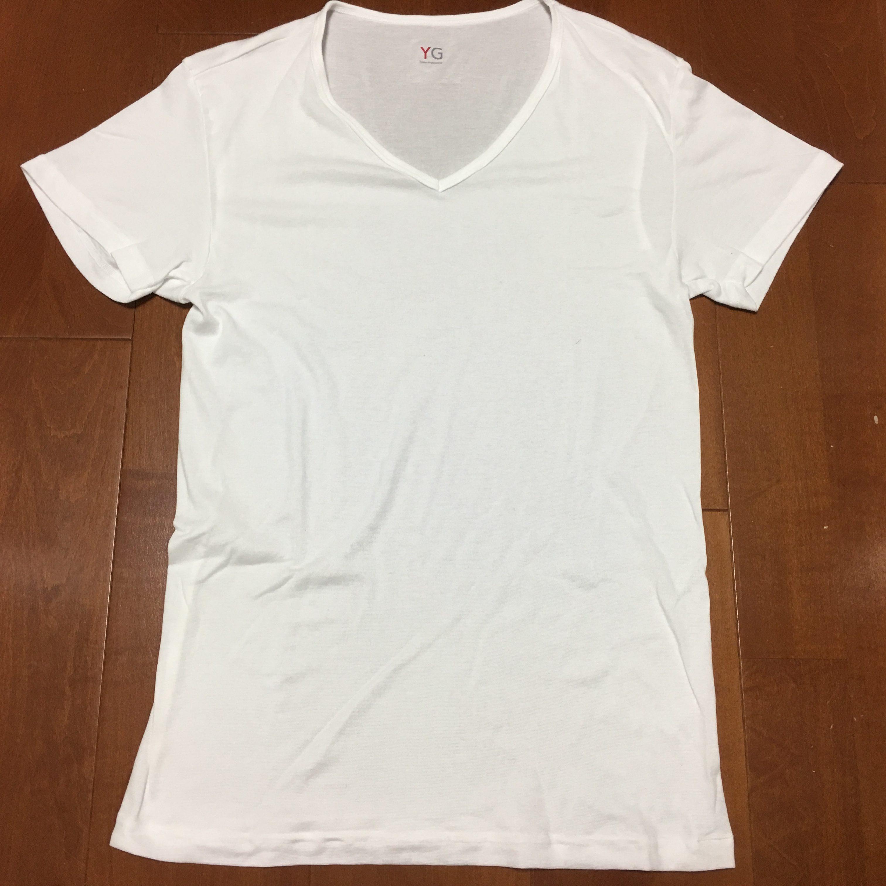 (グンゼ) GUNZE インナーシャツ YG DRY&DEOシリーズ Vネック半袖3