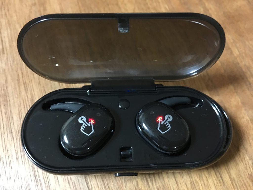 AIKAQI Bluetooth イヤホン 音量調整 完全 ワイヤレス イヤホン HIFI高音質 ブルートゥース イヤホン7