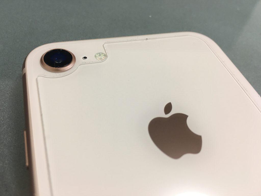 iPhone8 ガラスフィルム iPhone8 背面フィルム TALENANA 4