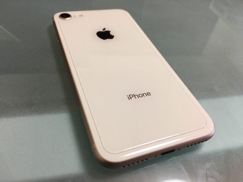 iPhone8 ガラスフィルム iPhone8 背面フィルム TALENANA 5