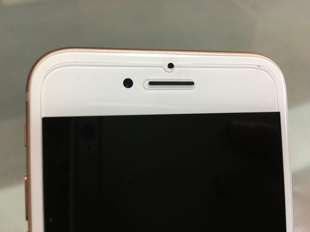 iPhone8 ガラスフィルム iPhone8 背面フィルム TALENANA 8