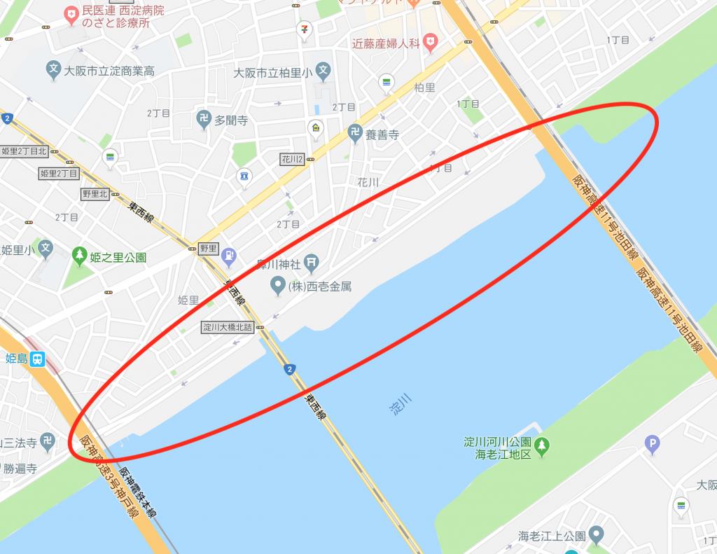 淀川のポイント