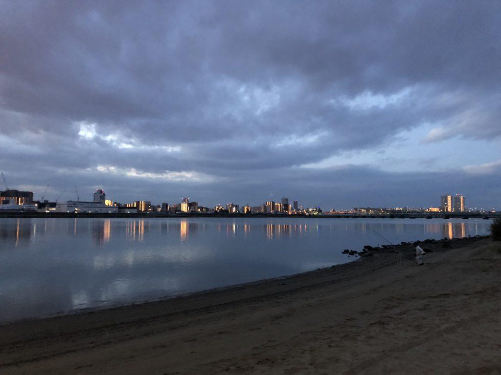 淀川でルアー釣り1