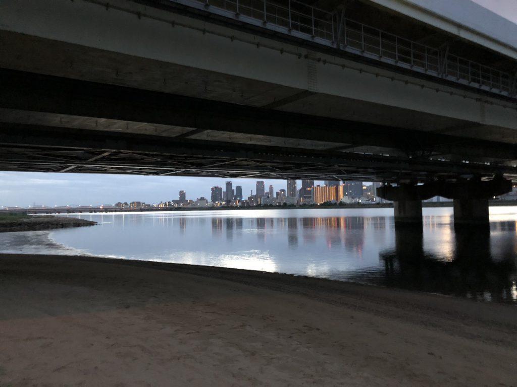 淀川でルアー釣り2