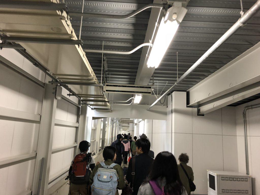 関西空港から釧路空港までの搭乗記1