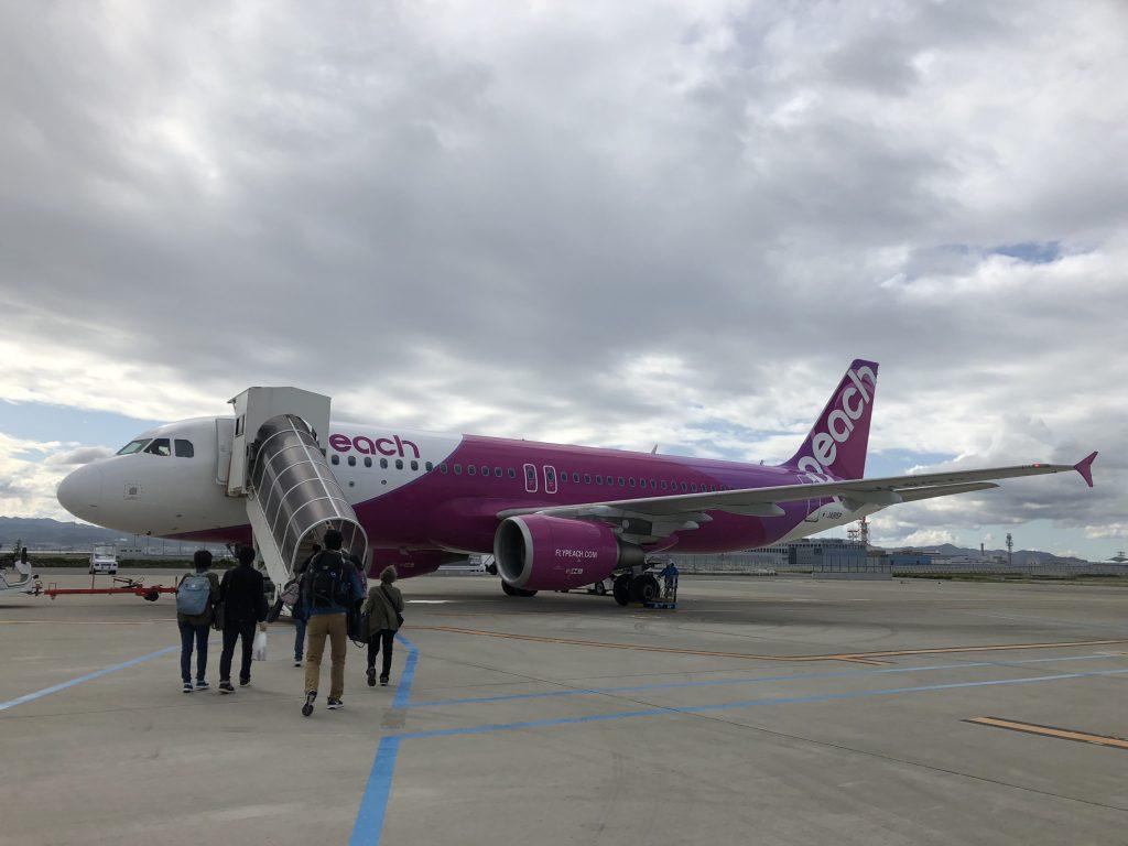 関西空港から釧路空港までの搭乗記2