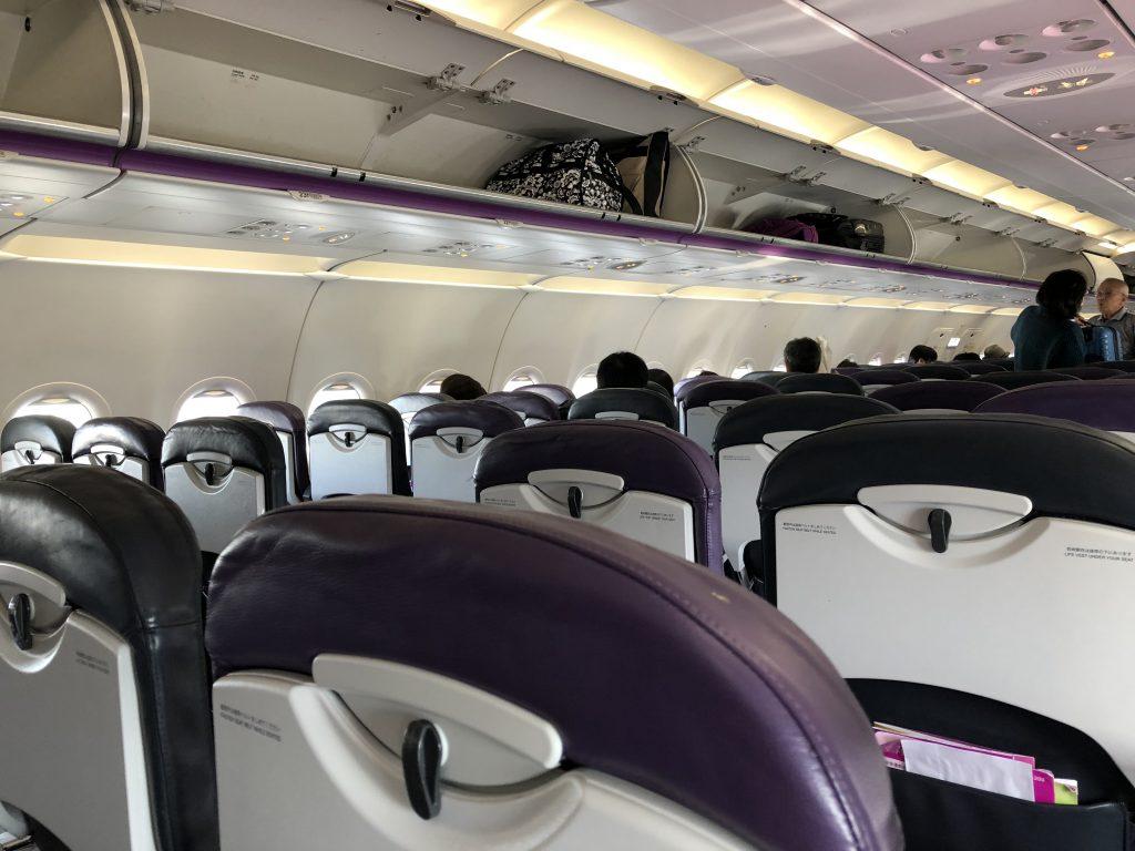 関西空港から釧路空港までの搭乗記3