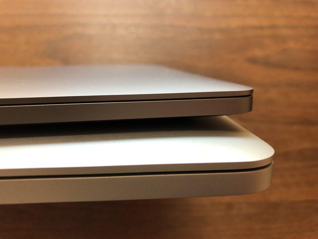 MacbookPro(2017年モデル)とMacbookPro(2014年モデル)の比較2