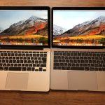iOS開発という視点で2014年と2017年の新旧Macbook Proを比較