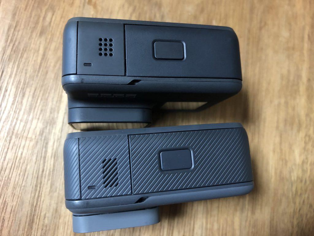 GoPro HERO7 BlackとGoPro HERO6 Black4