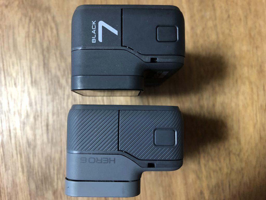 GoPro HERO7 BlackとGoPro HERO6 Black5
