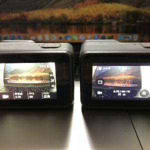 GoPro HERO7 BlackとGoPro HERO6 Blackを比較してみた