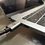MacbookProのUSB-TypeC1