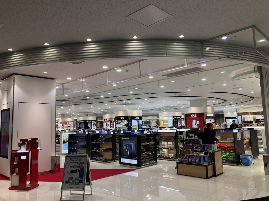 関空第2ターミナルの免税店