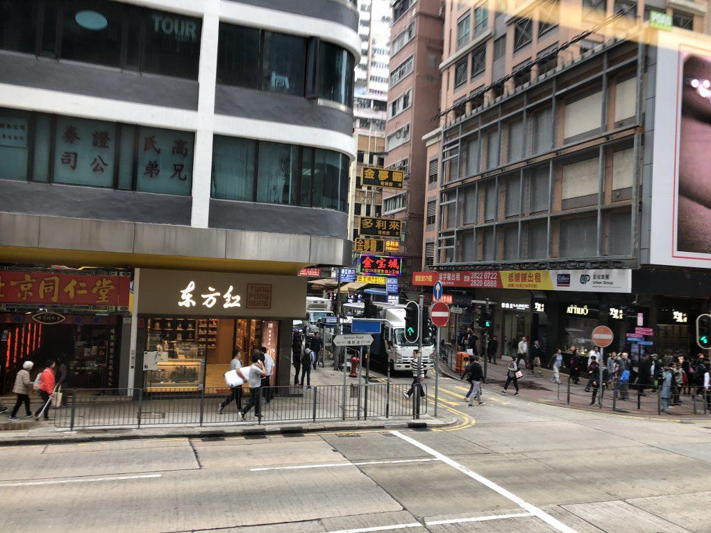 香港の車窓からの風景2