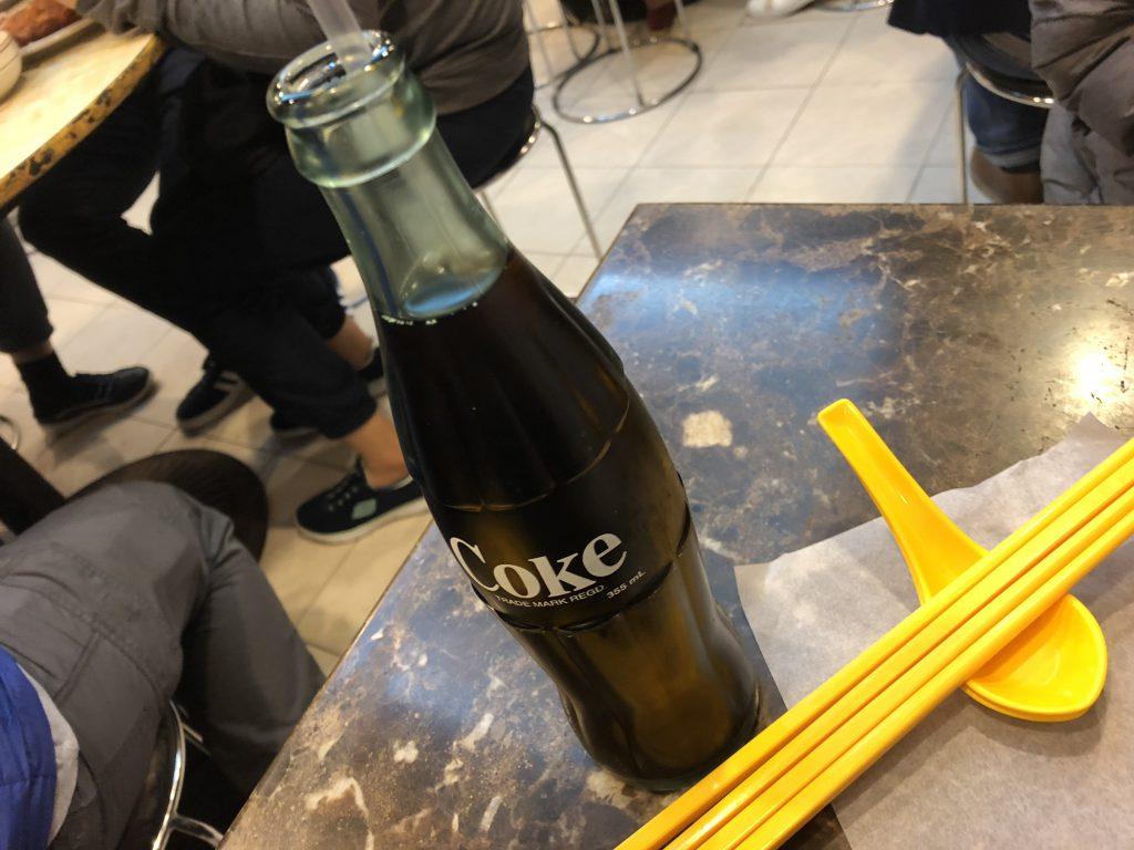 新景園咖喱小廚のコーラ