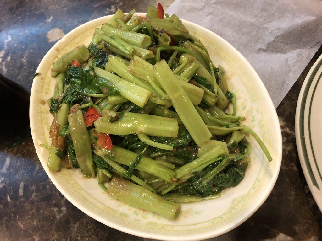 新景園咖喱小廚の野菜炒め