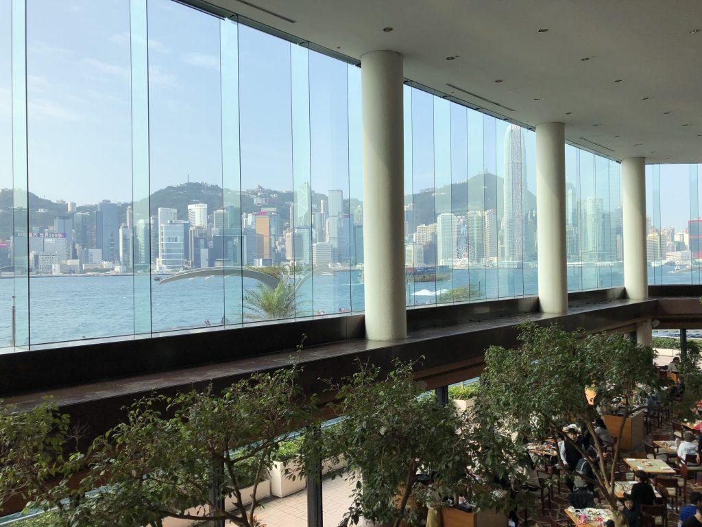 インターコンチネンタル香港のロビーラウンジの朝2