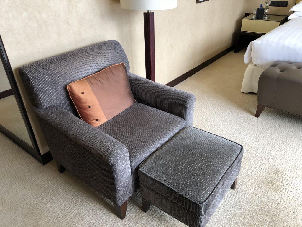インターコンチネンタル香港のソファ