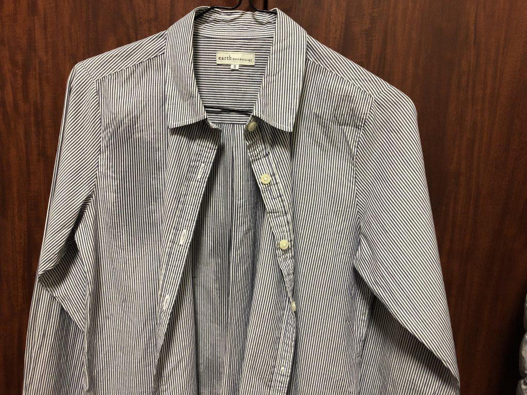 日立 スチームアイロン 衣類スチーマー ブラック CSI-S1 Bの威力をシャツで検証6