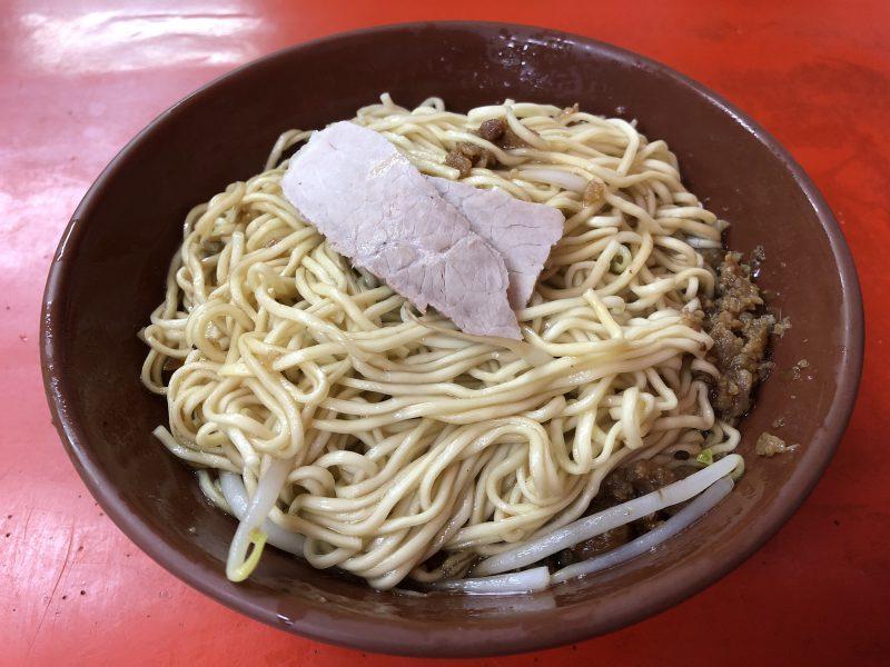 高雄旅行記6日間の5~6日目の六合夜市の乾麺