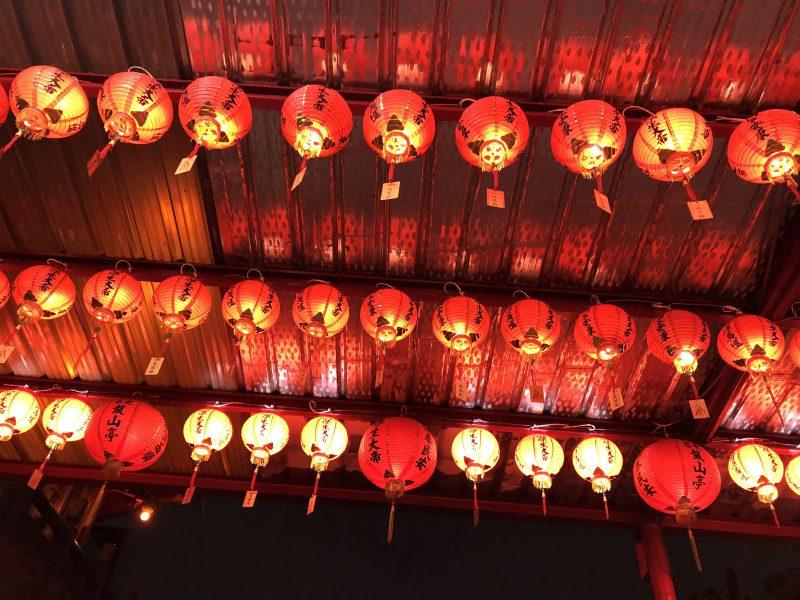 高雄旅行記6日間の3~4日目【2019年5月】自強夜市にある寺院2