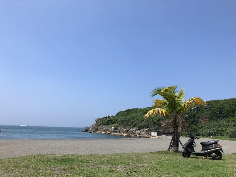 高雄旅行記6日間の5~6日目の旗津のビーチ
