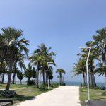 高雄旅行記6日間の5~6日目の旗津のビーチ2