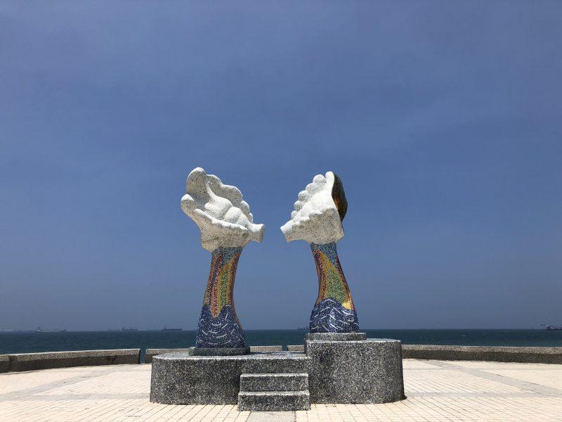 高雄旅行記6日間の5~6日目の旗津の謎のモニュメント