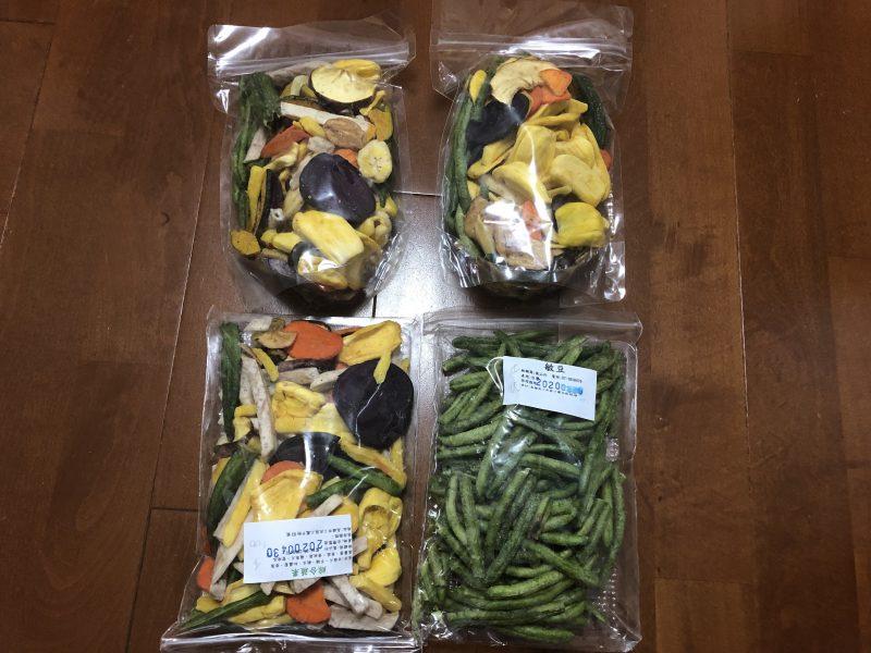 高雄旅行記6日間の3~4日目【2019年5月】の野菜チップス1