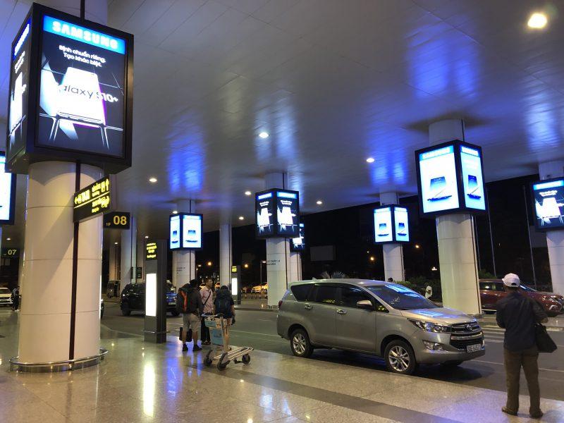 ベトナムのハノイ旅行記4日間の1〜2日目【2019年6月】ノイバイ国際空港の到着口