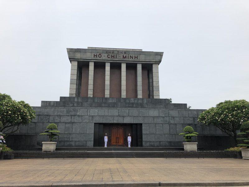 ベトナムのハノイ旅行記4日間の1〜2日目【2019年6月】ハノイのホーチミン廟